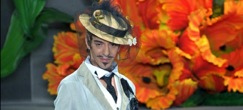 6e0b4863245c6 Flash news  John Galliano Creative Director at Maison Martin ...