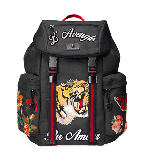 aveugle par amour backpack gucci