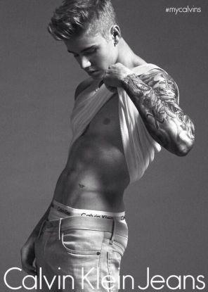 Justin Bieber per Calvin Klein