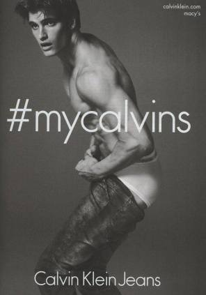 Matthew Terry per Calvin Klein