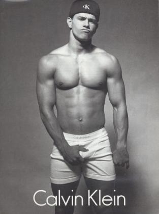 Mark Wahlberg per Calvin Klein
