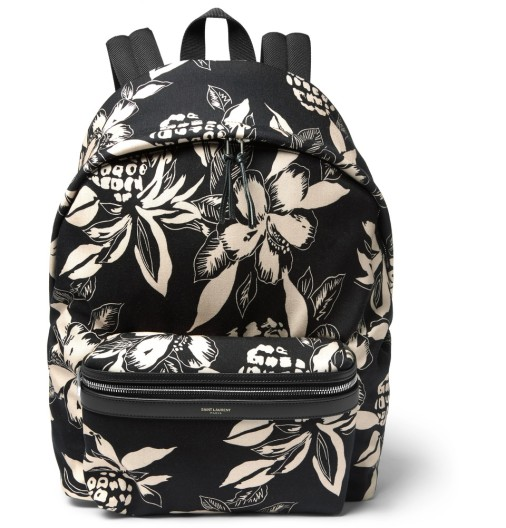 floral print canvas backpack.jpg