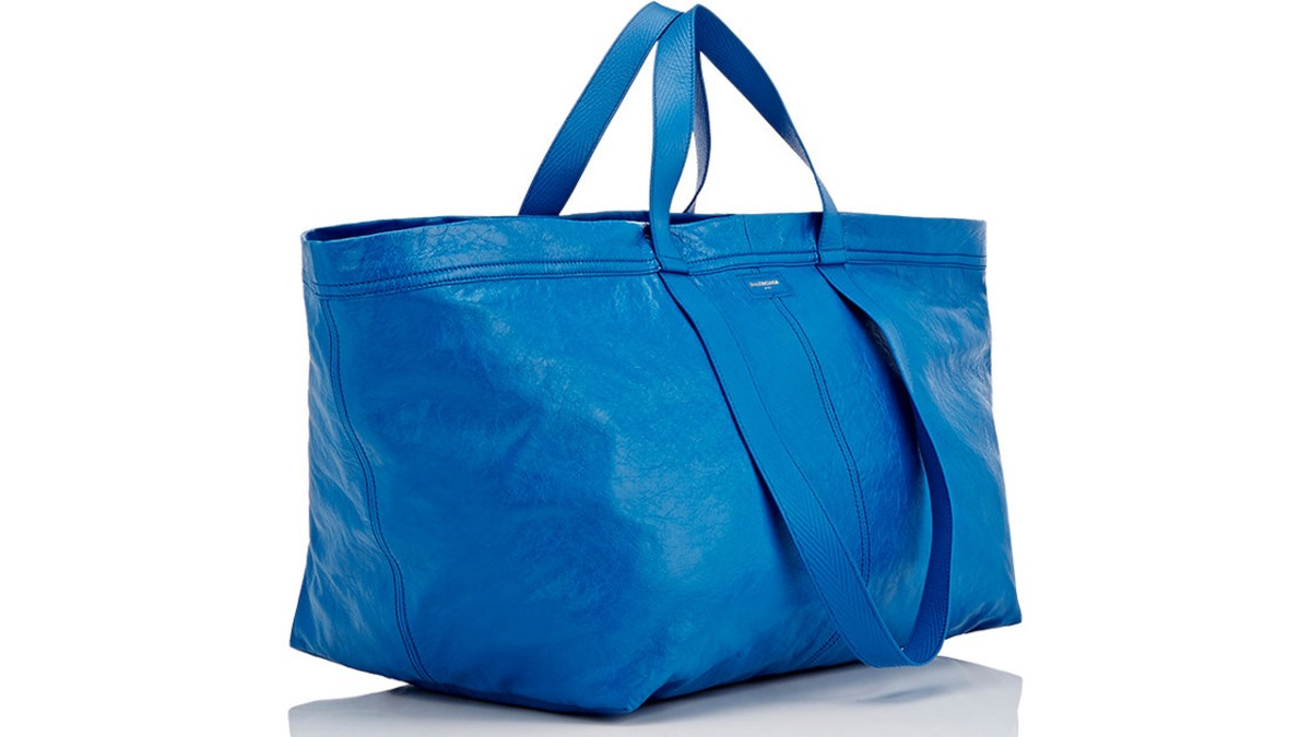 Balenciaga Ikea Bag, seriously?